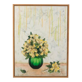 Floral Still Life Collage by Berthe Milandt For Sale