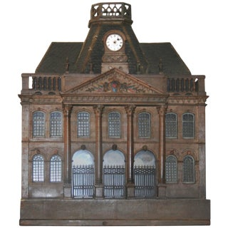 Early 20th Century Empire Style Birdcage Chateau De Luneville Model For Sale