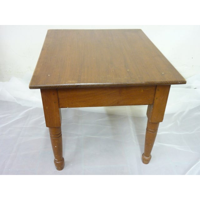 Rustic 19th Century Vintage Low Table For Sale - Image 3 of 6