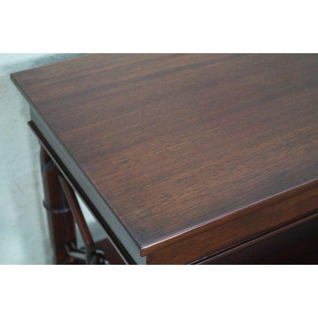 Custom Quality Mahogany Console Etagere For Sale In Philadelphia - Image 6 of 10