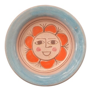 DeSimone Italian Pottery Bowl, Signed For Sale