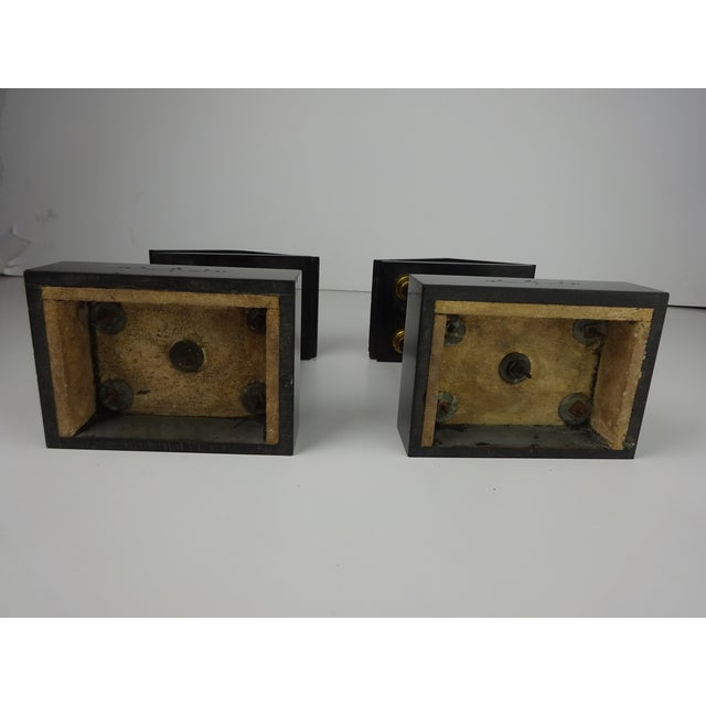 Belgian Miniature Marble & Bronze Temples - A Pair - Image 11 of 11
