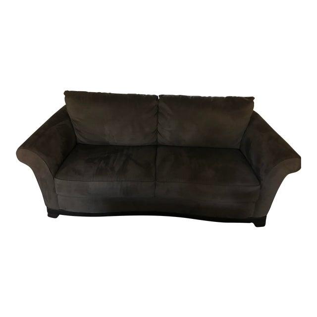 Natuzzi 1721 Microfiber Sofa Chairish