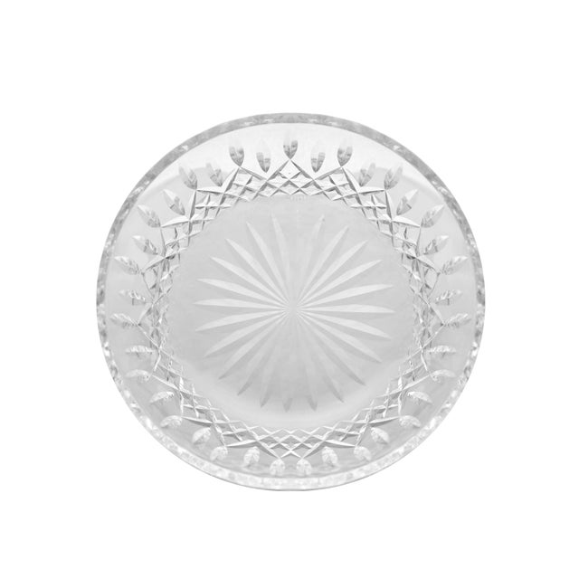 American Vintage Round Bowl Araglin Pattern Cut by Waterford Crystal For Sale - Image 3 of 5
