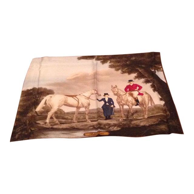 Vintage Silk Ralph Lauren Scarf For Sale