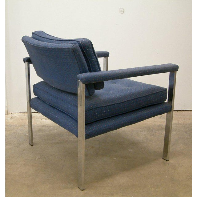 1970s 1970s Milo Baughman for Thayer Coggin Lounge Chairs - a Pair For Sale - Image 5 of 9