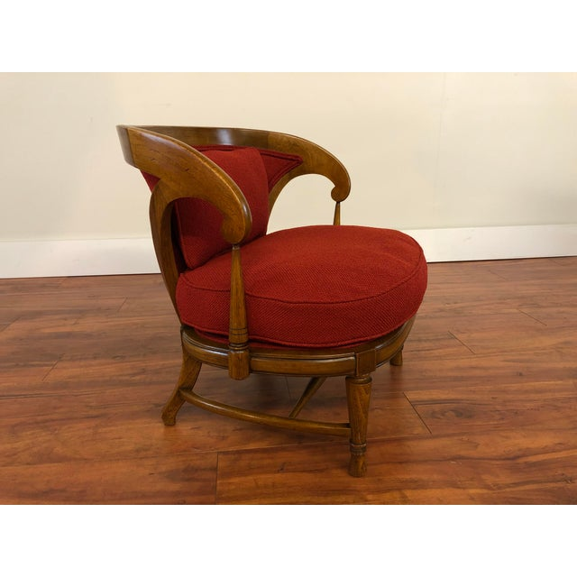Mid-Century Modern Tomlinson Sophisticate Vintage Occasional Chair For Sale - Image 3 of 13