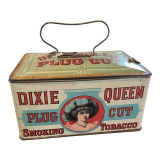 Dixie Queen Plug Cut Tin