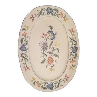 Villeroy & Bock Delia Pattern Platter For Sale