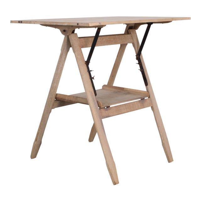1920s Belgian Drawing Table For Sale