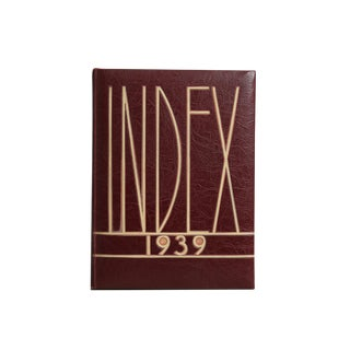 Index 1939 For Sale