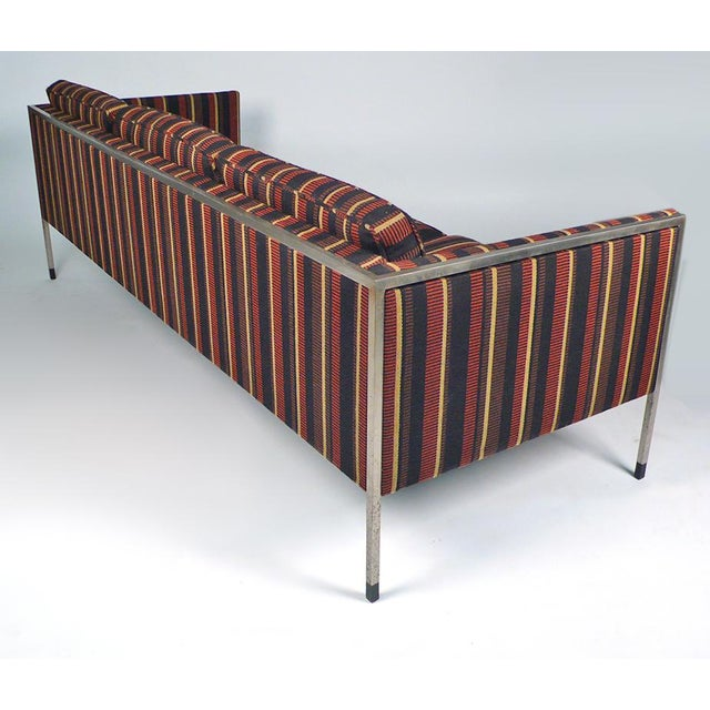 Fabric 1960s Architect's Sofa For Sale - Image 7 of 8