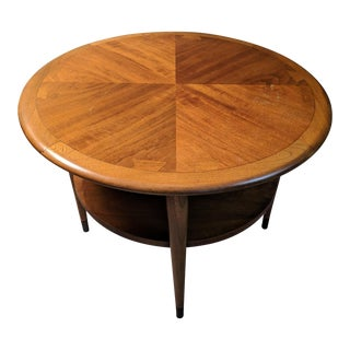 Mid Century Modern Lane Acclaim Round End / Side Table For Sale