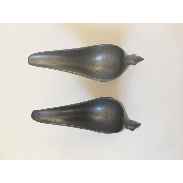 Traditional Just Andersen Signed Bird Pipe Holders - A Pair For Sale - Image 3 of 9