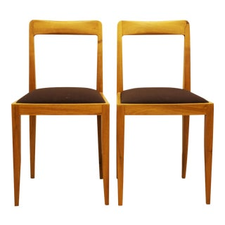 Austrian chairs by Julius Jirasek For Hagenauer workshops - A Pair For Sale