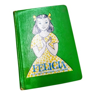 1960's Vintage Felicia by Eleanor Francis Lattimore 1st Edition Book For Sale