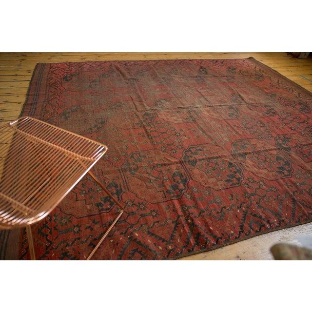 "1920s Vintage Ersari Carpet - 8'2"" X 9'8"" For Sale - Image 5 of 10"
