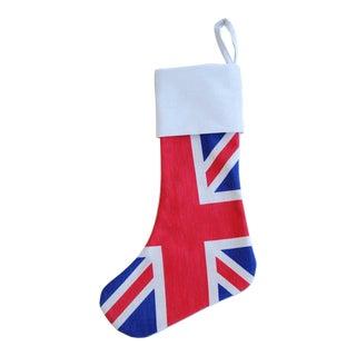 British Union Jack Christmas Stocking