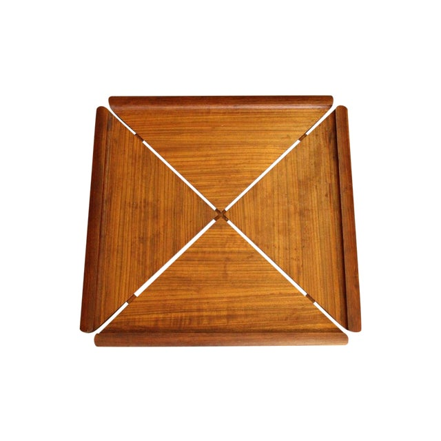 Early Dansk Rare Woods Mutenye Tray by Quistgaard - Image 1 of 3