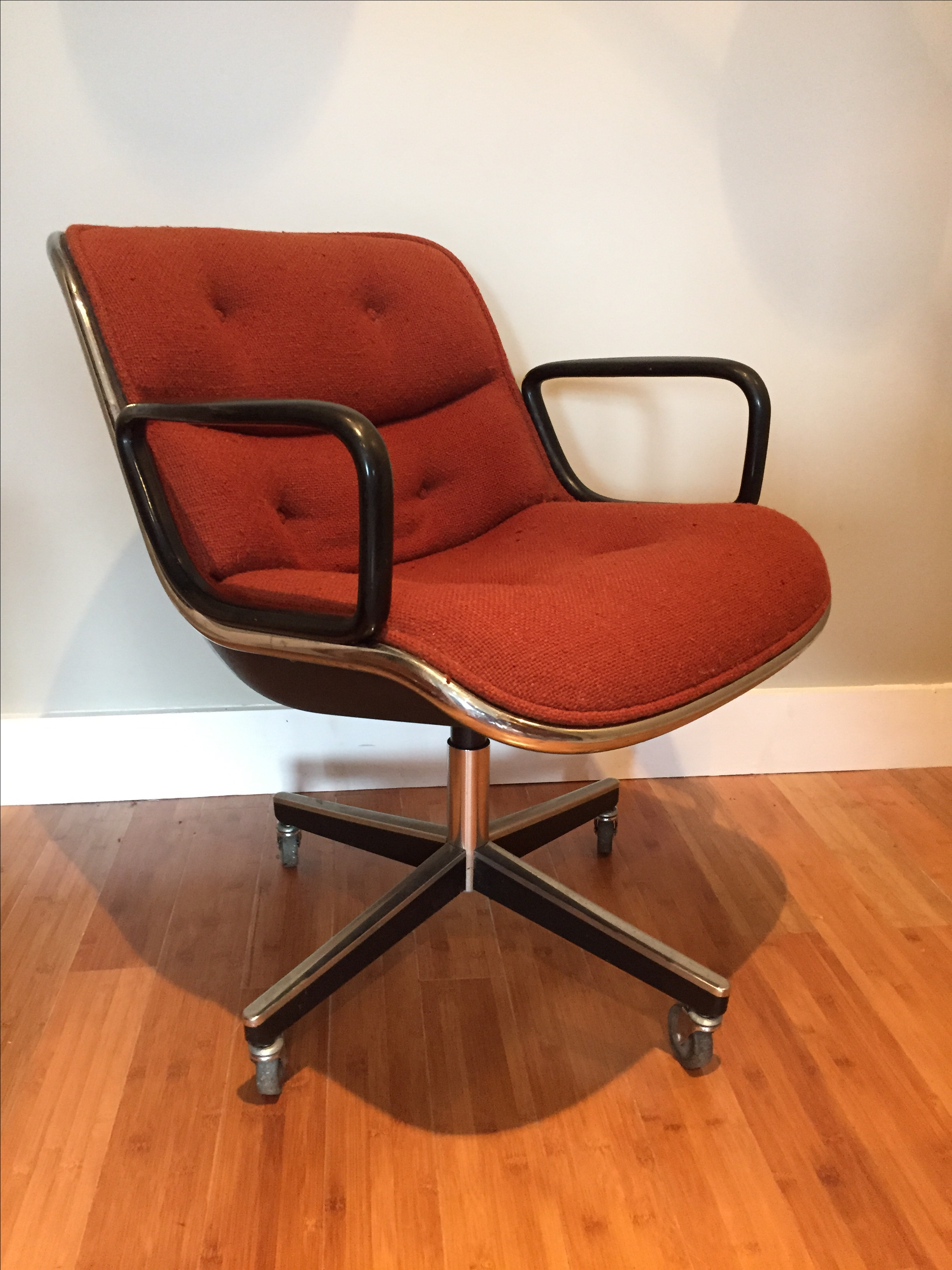 Vintage Mid Century Knoll Pollock Chair   Image 2 Of 9