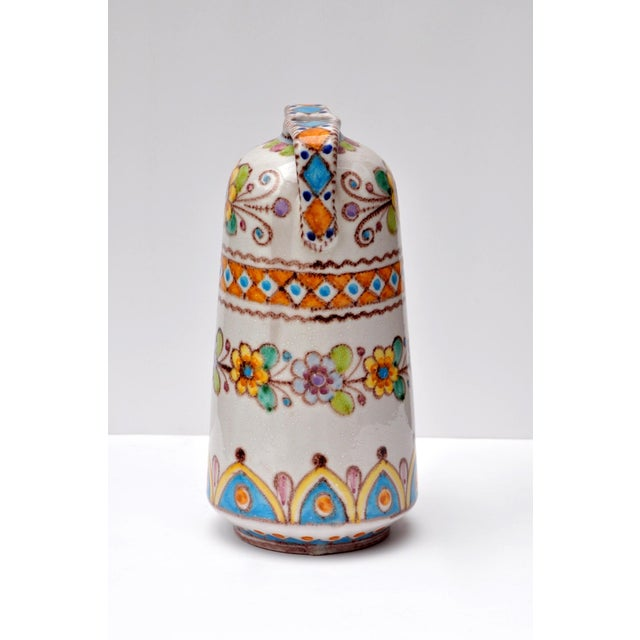 Italian Vincenzo Pinto Classical Style Vase For Sale - Image 3 of 5