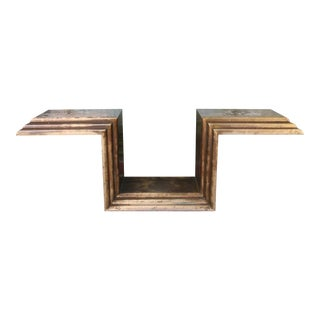1970s Hollywood Regency Console Table For Sale