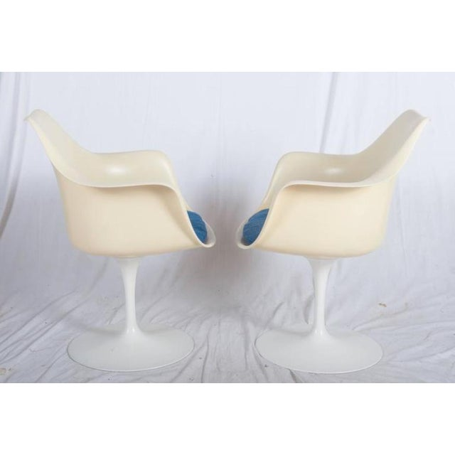 1960s Model 151 Tulip Armchairs by Eero Saarinen for Knoll International - A Pair For Sale - Image 5 of 10