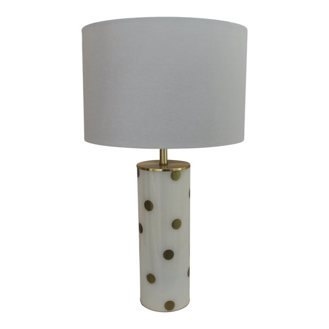 Kate Spade Poka Dot Table Lamp For Sale