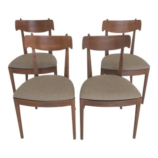 1960s Vintage Kipp Stewart for Drexel Declaration Dining Chairs- Set of 4 For Sale
