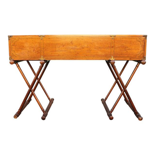 Vintage Campaign Rolltop Desk For Sale