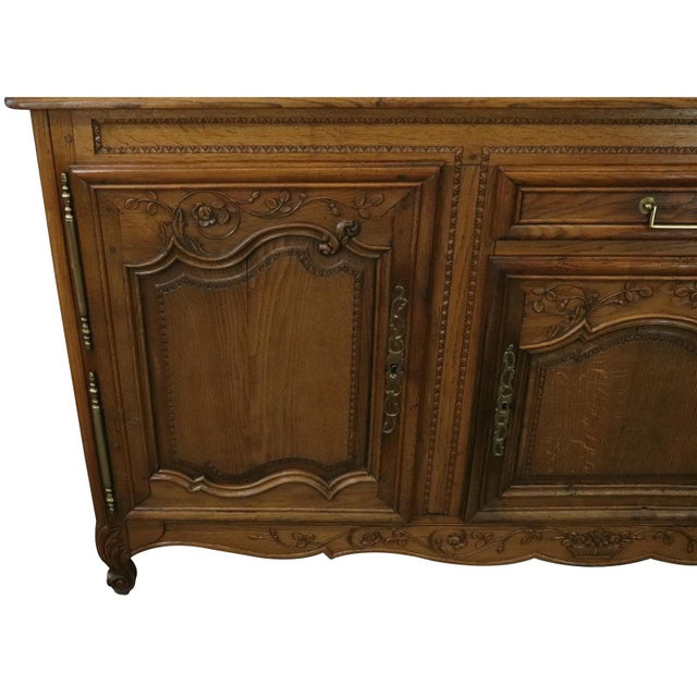Sideboard Normandy Antique French 1890 Carved For Sale - Image 4 of 11