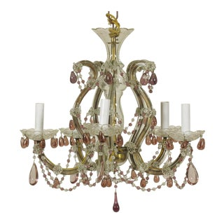 Early 20th Century Louis XVI Style Chandelier For Sale