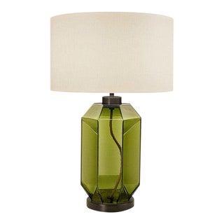 Laguna Hexa Table Lamp in Olive Colour For Sale