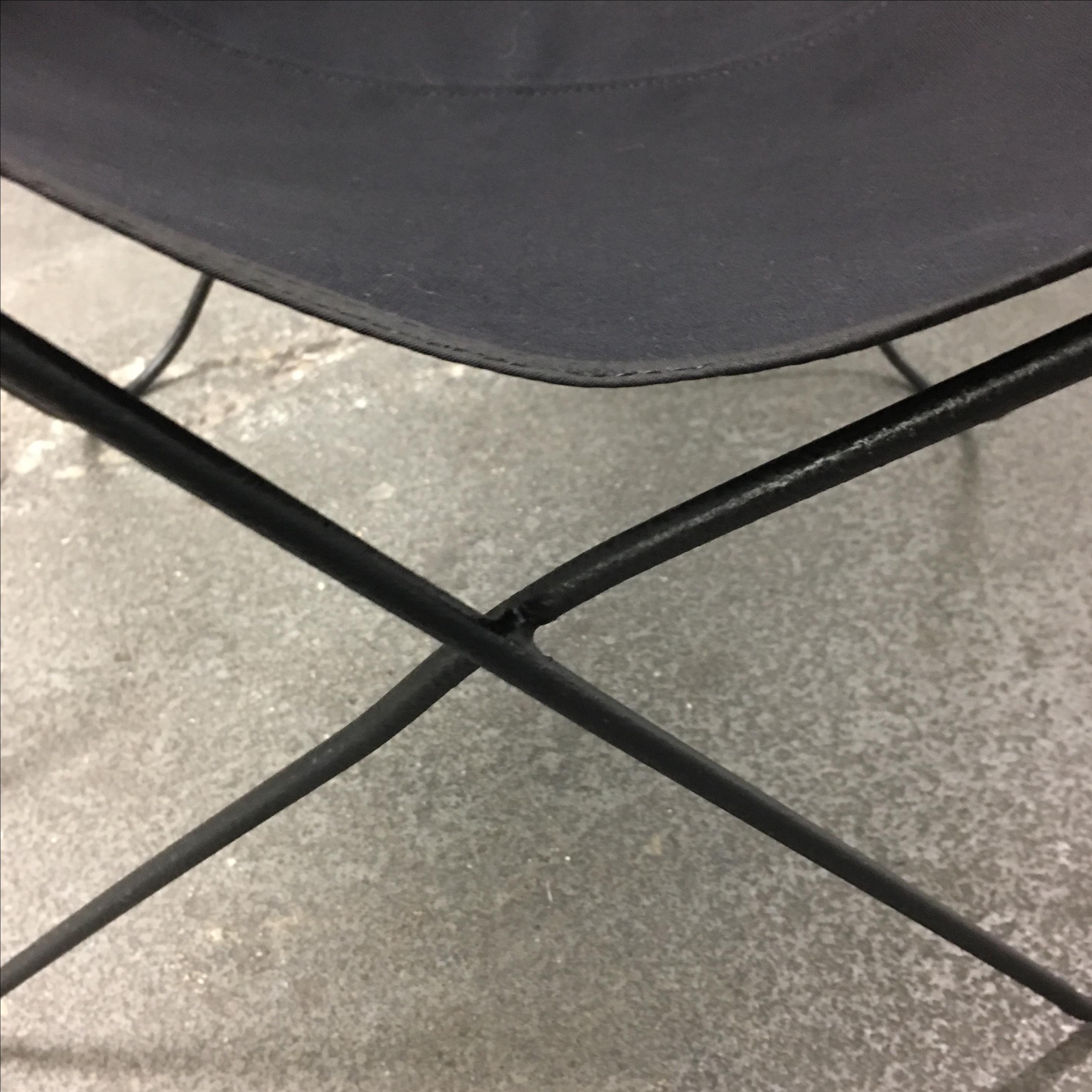 Jorge Ferrari Hardoy Mid Century Butterfly Chair   Image 6 Of 7