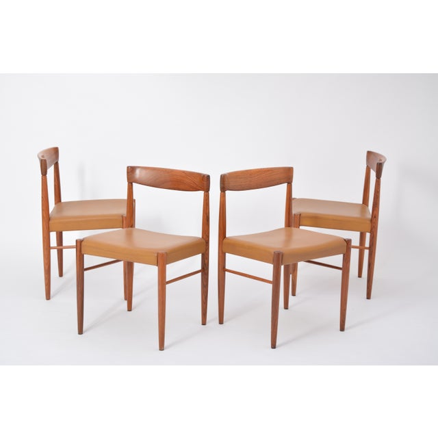 Rosewood Dining Chairs by h.w. Klein for Bramin, Set of Four For Sale - Image 9 of 12