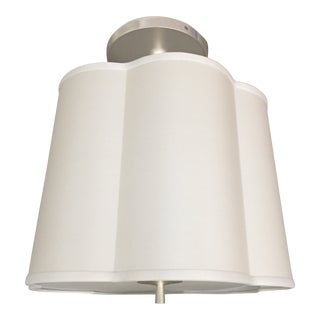 Barbara Barry Scallop Pendant Light Fixture For Sale