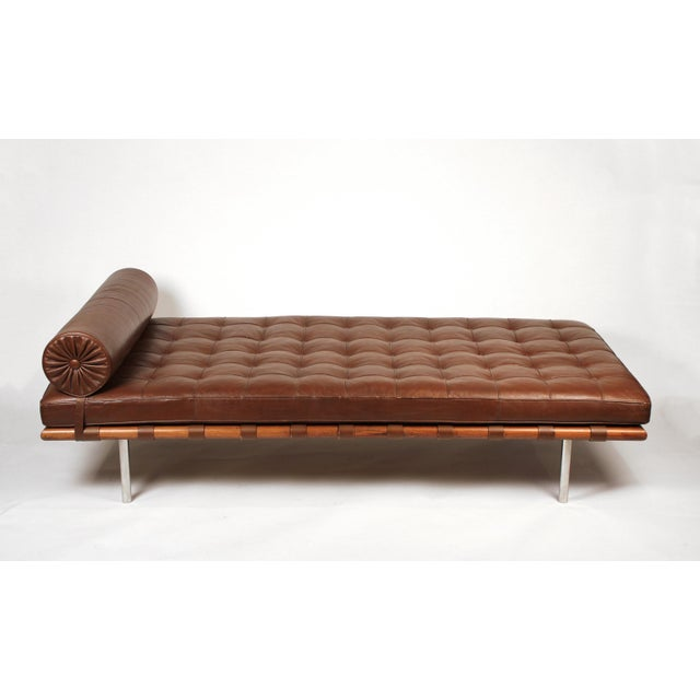 Early Production, Rosewood Daybed Designed by Ludwig Mies Van Der Rohe For Sale - Image 11 of 11