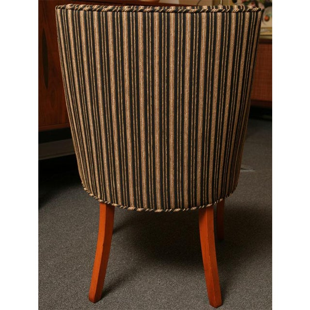 Sleek Tailored 40's Slipper Side Chairs - Image 6 of 10