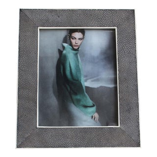 Shagreen Stingray Picture Frame #2 For Sale