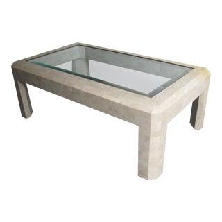 Maitland-Smith Tessellated Stone Coffee Table