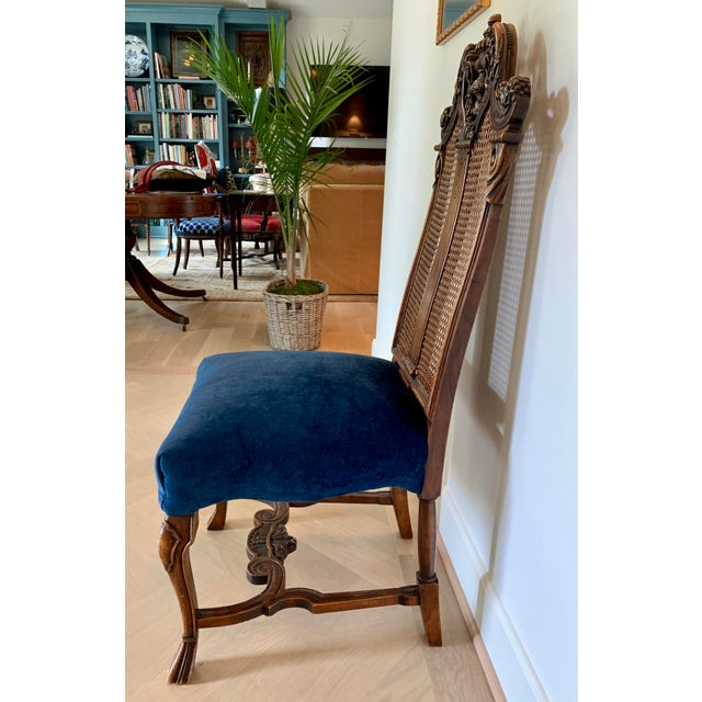 Early 20th Century Vintage Italian Rococo Chair For Sale In Kansas City - Image 6 of 10