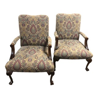 Parker Southern Armchairs - a Pair For Sale
