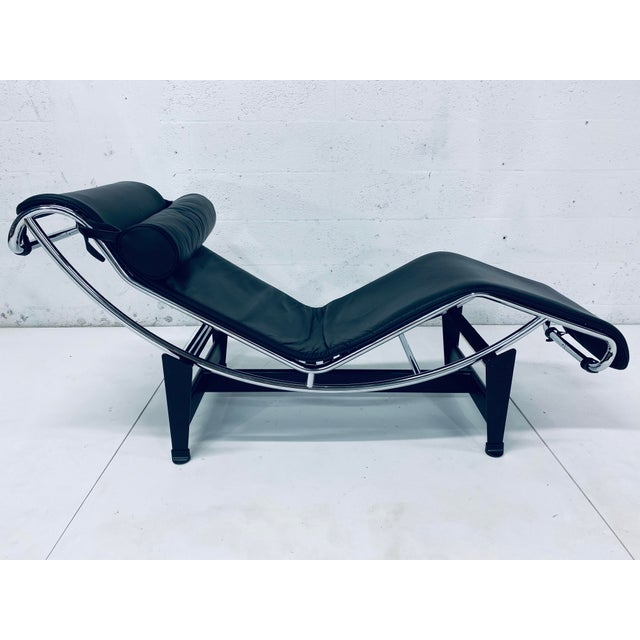 Lc4 Le Corbusier Chaise Lounge for Cassina For Sale - Image 12 of 12