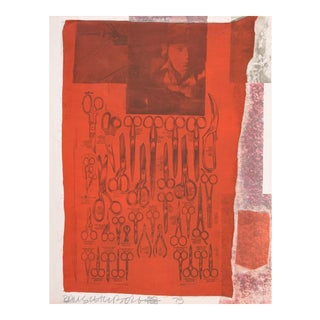 "Robert Rauschenberg ""More Distant"" Screenprint For Sale"