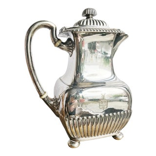 Late 19th Century Silver Plated Tiffany & Co. Coffee Pot For Sale