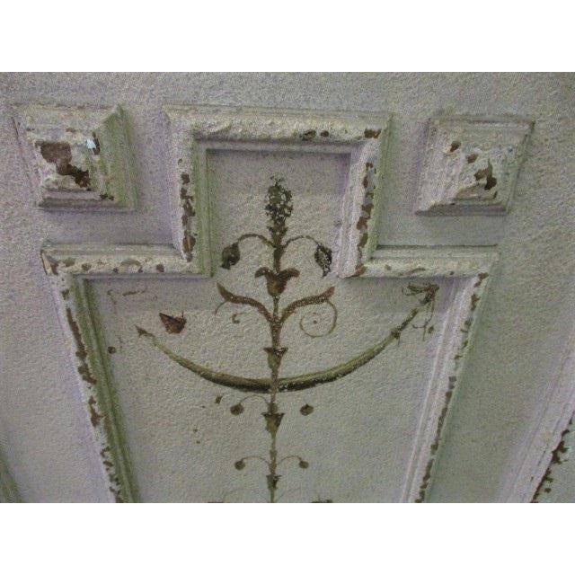 Americana Storage Cabinet White Shabby Chic Sweetish Style Cupboard For Sale - Image 3 of 6
