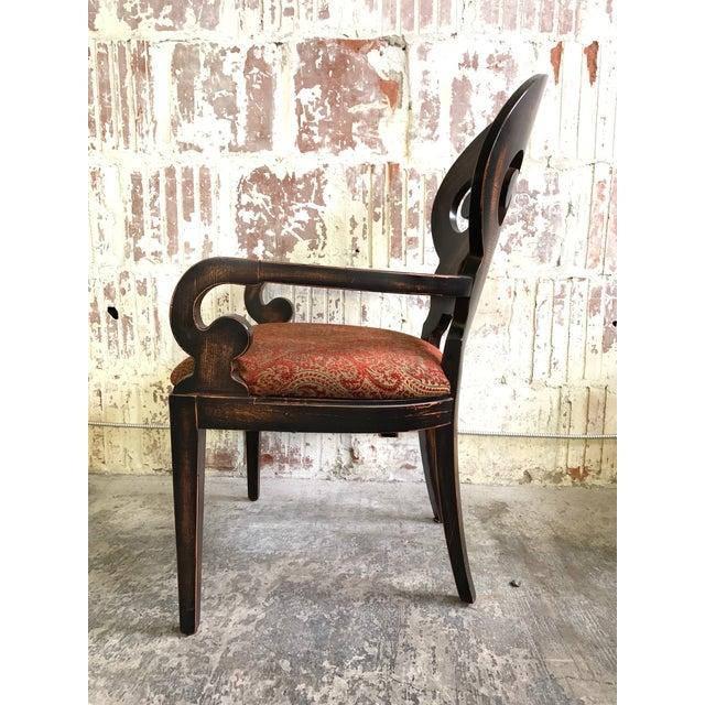 "Wood Set of Six Arhaus ""Jordan"" Dining Chairs For Sale - Image 7 of 13"