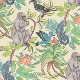 Cole & Son Savuti Classic Wallpaper - 11 Yards For Sale