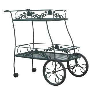 Vintage Amp Used Green Bar Carts And Dry Bars Chairish