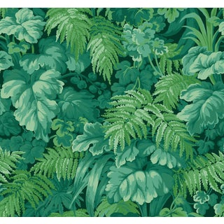 Cole & Son Wallpaper Royal Fernery in Forest Green For Sale
